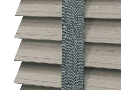 gray wood blinds gray cloth tape laguna beach