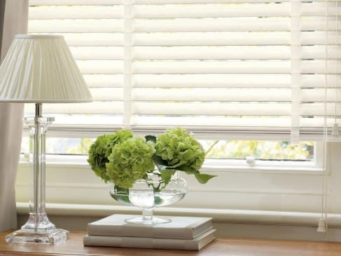 white wood blinds cloth tape laguna beach